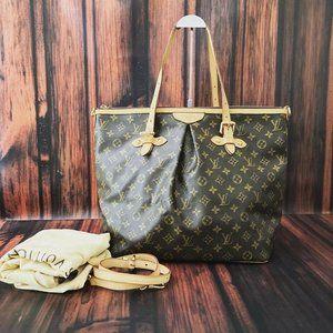 Louis Vuitton Monogram Palermo GM w/ Strap
